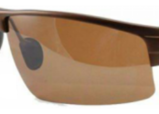 Shiny White Frame / Copper Brown Lens (+70.00)