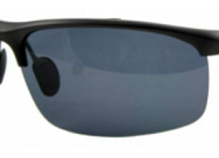 Shiny Black Frame / Dark Grey Lens