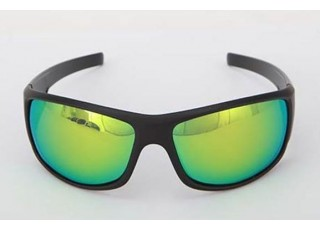 Matte Black Frame / Green Mirror Lens (+60.00)