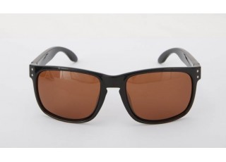 Shiny Black Frame / Copper Brown Lens