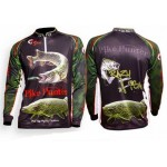 Crazy Fish Pike Hunter Black Jersey